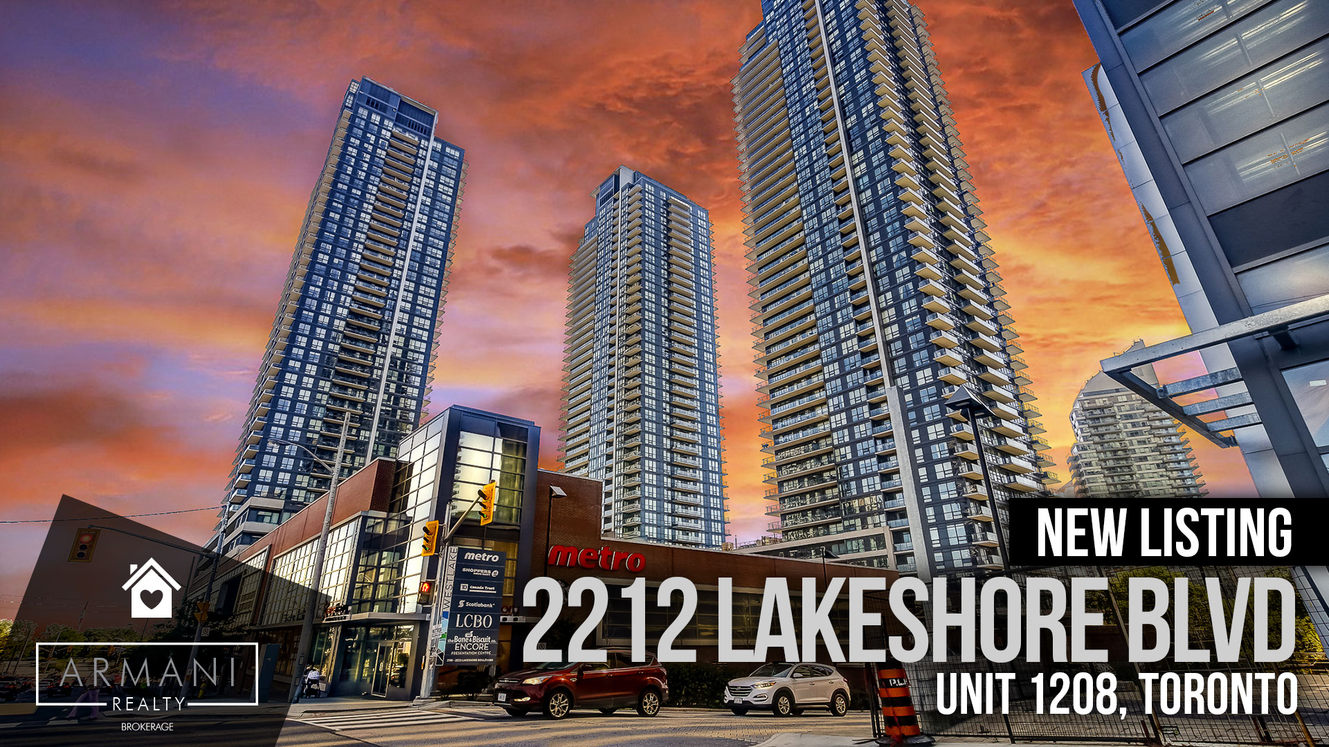 JUST LISTED! 2212 Lakeshore Blvd W #1208 in South Etobicoke