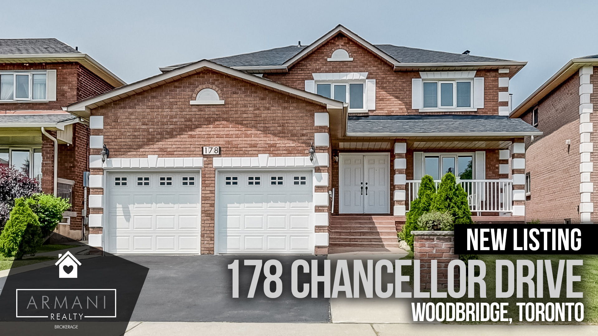 JUST LISTED & SOLD! 178 Chancellor in Vaughan