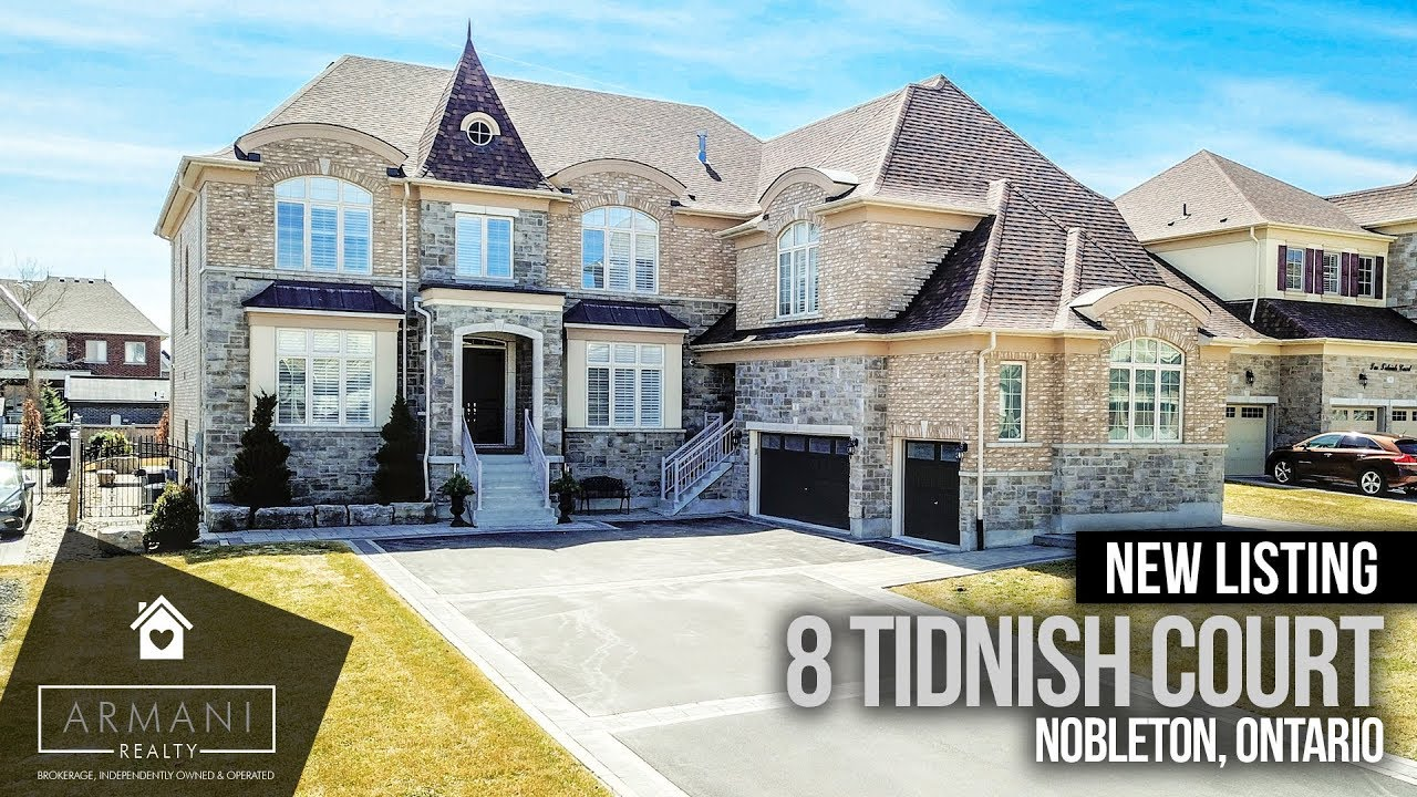 Just Listed! 8 Tidnish Court In Nobleton!
